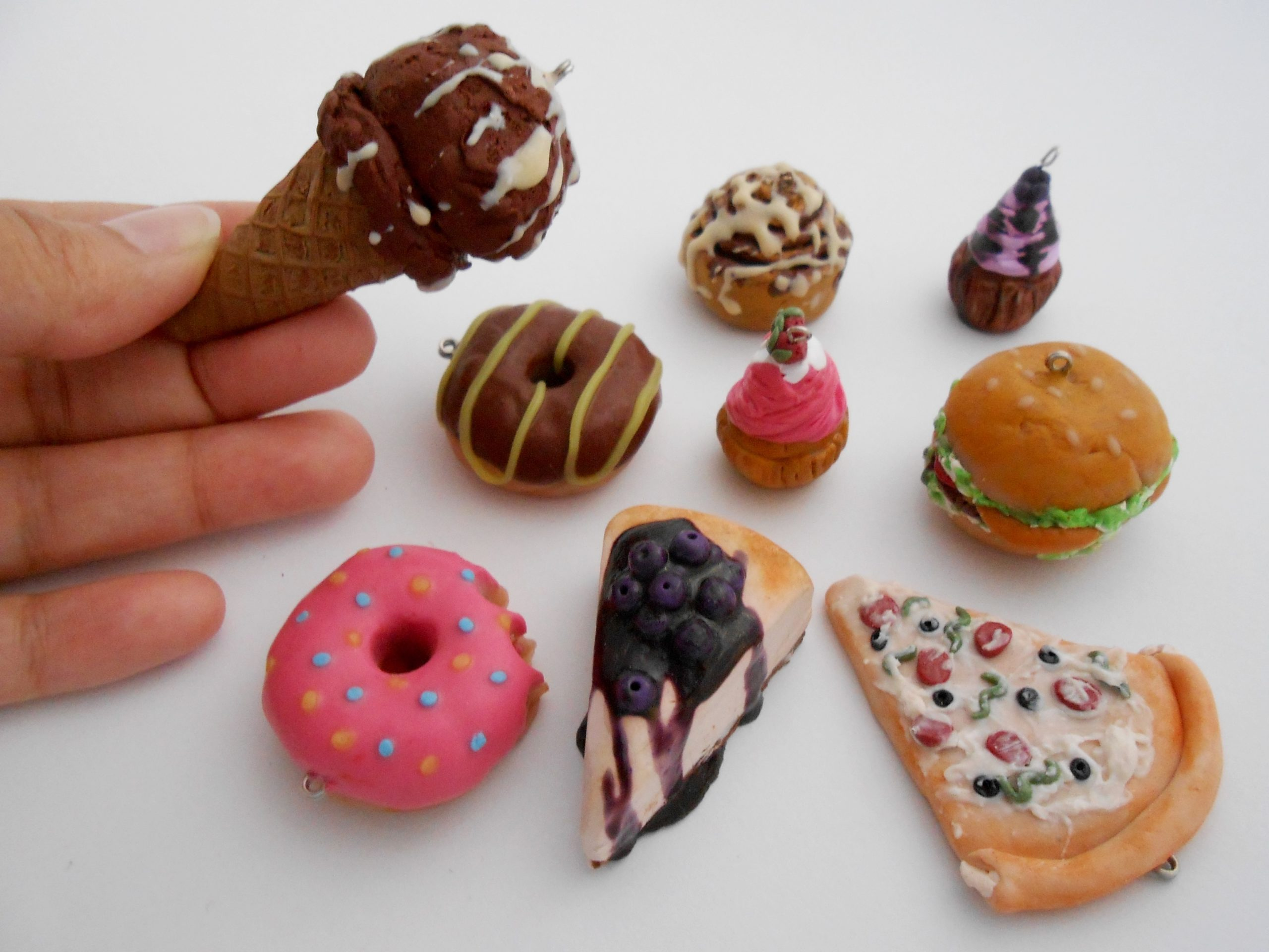 Miniature Food with Polymer Clay for Beginners